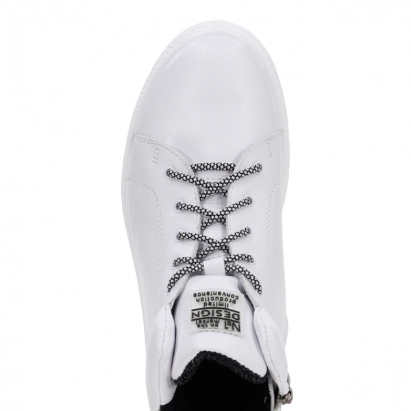 Женские ботинки 32105 бел (36,37,38,39,40)
