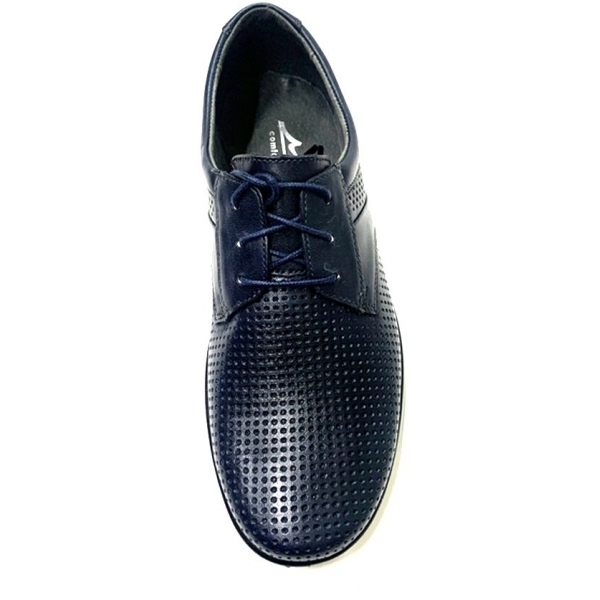 Мужские туфли 44142 син. ( 40,41,43,44)
