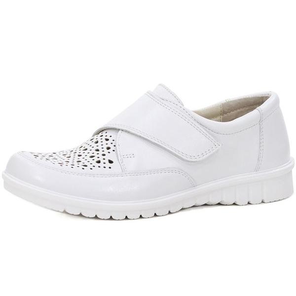 Женские туфли 344086 бел (38,39,40,41)