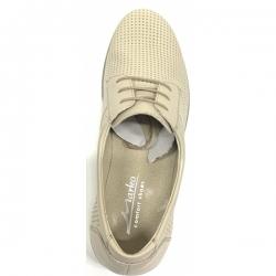 Мужские туфли 44142 беж ( 40,41,42,43,45)