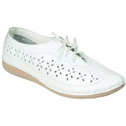 Женские туфли EB-5K бел (36)