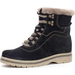 Женские ботинки 12434  черн (36,37,38,40)